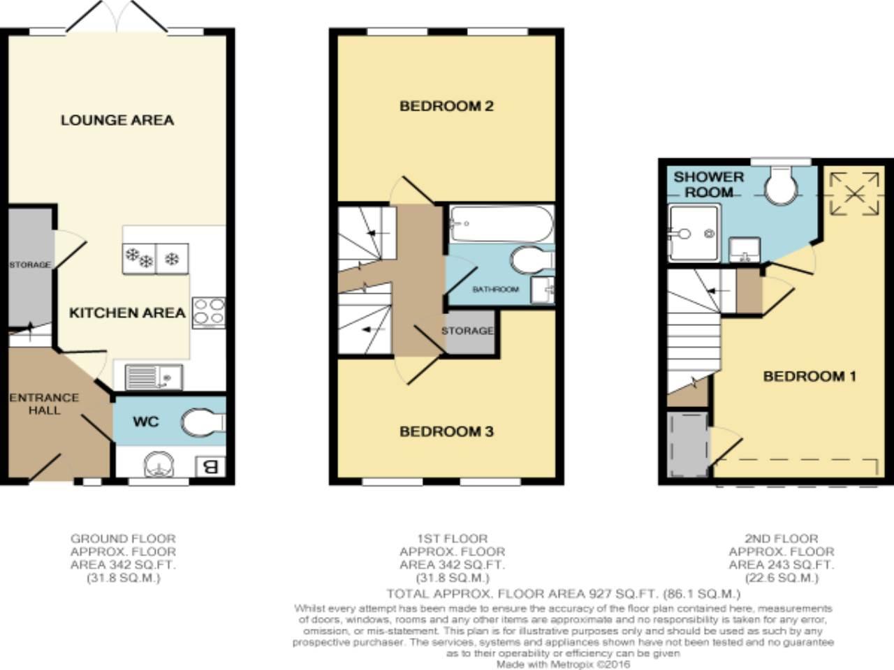 3 Blueberry Mews Floor Plan